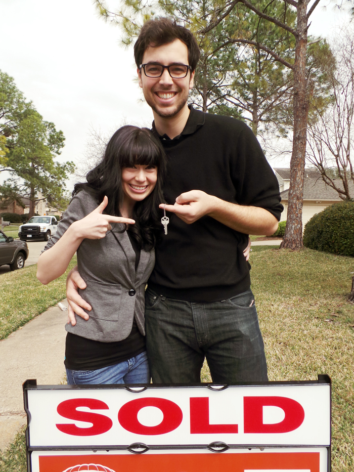 Officially Home Owners!- evanandkatelyn.com