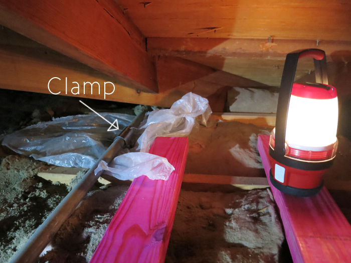 Clamp Like a Champ (DIY Plumbing)- evanandkatelyn.com