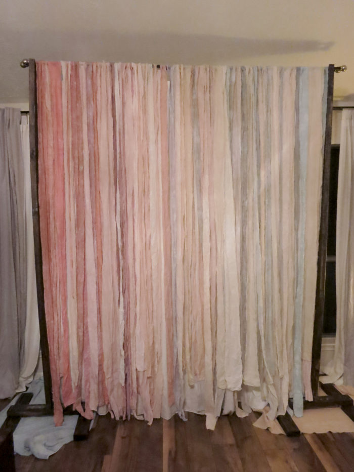 To-Dye-For DIY Backdrop (Part II) - evanandkatelyn.com