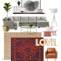 Living room mood board – I wish!