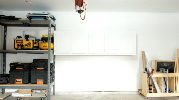DIY garage storage solutions - evanandkatelyn.com