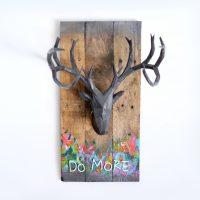 3D Printed Deer Head for Casey Neistat