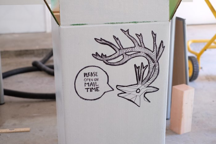 3D printed deer head for Caset Neistat - Evan & Katelyn
