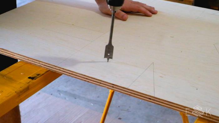 DIY wood and metal marquee letters - Evan & Katelyn