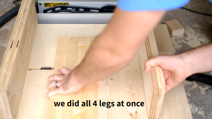 DIY 2x4 side table for just $9 - Evan & Katelyn